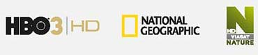 HBO 3 HD, NATIONAL GEOGRAPHIC, VIASAT NATURE HD